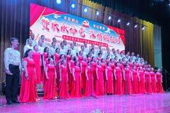 Singing contest stock photos
