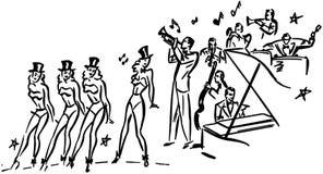 Chorus Line Royalty Free Stock Photo