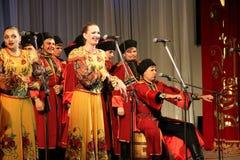 Chorus singing Royalty Free Stock Photo