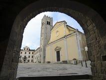 Chorwacja, brzęczenie mały miasteczko w świacie obrazy royalty free