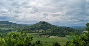 Chorwacja, Istria, Stary Motovun/ obraz royalty free