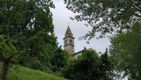Chorwacja, kościół/Istria, Motovun/ obrazy royalty free