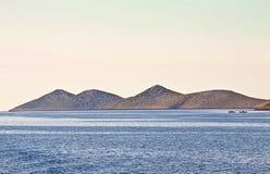 Chorwacja, Kornati archipelag Fotografia Royalty Free