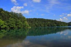 Chorwacja - krajobraz Plitvice jeziora fotografia royalty free