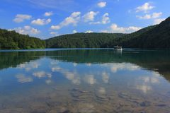 Chorwacja - krajobraz Plitvice jeziora fotografia stock