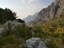 Chorwacja mountines Obrazy Royalty Free