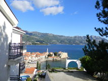 Chorwacja panorama obrazy royalty free