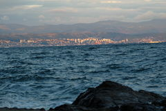 Chorwacja piękny morze Zdjęcie Stock
