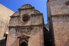 Chorwacja - renaissance kościół wybawiciel w Dubrovnik obrazy stock