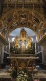 Chorwacja, rozłam - Czerwiec 2018: Widok Katedralny wierza chociaż wąskie ulicy miasteczko obraz stock