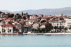 Chorwacja rozłam fotografia royalty free