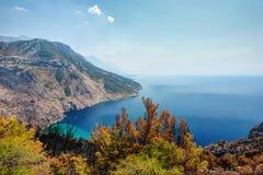 Chorwacja wybrzeża linia zdjęcia royalty free