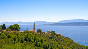 Chorwacja wybrzeże Zdjęcia Stock