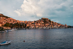 Chorwacja wybrzeże zdjęcie royalty free