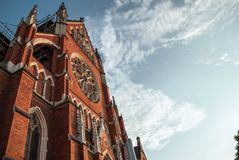 Chorwacka katedra, Osijek Obrazy Royalty Free