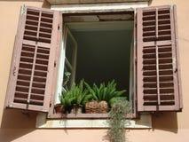 chorwacki okno Zdjęcie Royalty Free