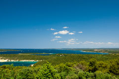 chorwacki Riviera Zdjęcie Stock