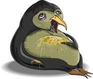 Chory pingwin Fotografia Royalty Free