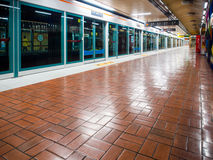 Choryang Station without people. Royalty Free Stock Photos