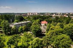 Chorzów - Town at Silesia. Chorzów - a big industrial city at silesia voivodship stock photo