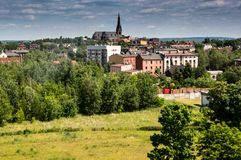 Chorzów - Town at Silesia. Chorzów - a big industrial city at silesia voivodship royalty free stock photos