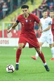 Poland vs Portugal 2:3 . In the picture Pepe stock photography