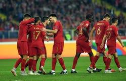 UEFA Nations League Poland - Portugal royalty free stock photo