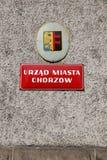 Chorzow stadshus Arkivbilder