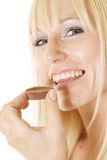 Chose chocolate Stock Images