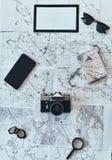 Chose que vous avez besoin dans le voyage Photos libres de droits