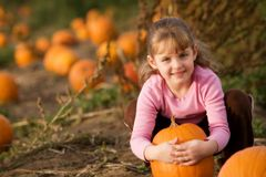 The Chosen Pumpkin Stock Photography