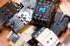 Choses électriques Photographie stock libre de droits