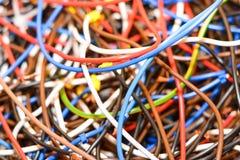 Choses électriques Photographie stock