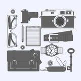 Choses qu'un homme porte Photographie stock libre de droits
