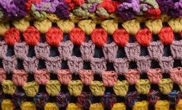 Choses tricotées Photos stock