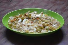 Chotpoti in Bangladesh, dhaka food royalty free stock photos