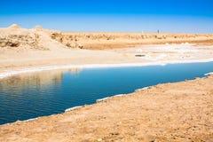 Chott el Djerid, salt lake in Tunisia Royalty Free Stock Photo