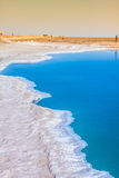 Chott el Djerid, słone jezioro w Tunezja Obrazy Royalty Free