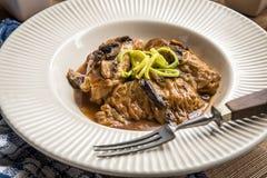 Chou bourré avec de la viande et le riz Photo libre de droits