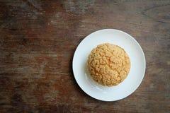Chou cream. ม sweet, good tset Stock Photo