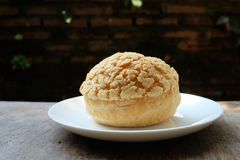 Chou cream. Sweet, good test Royalty Free Stock Photography