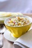 Chou de chine, maïs et salade de surimi Photo libre de droits