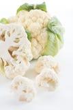 Chou-fleur avec des feuilles Image libre de droits