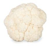 Chou-fleur frais d'isolement sur le fond blanc Image stock