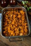 Chou-fleur frit savoureux photo libre de droits