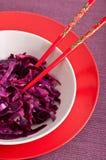 Chou rouge Image stock