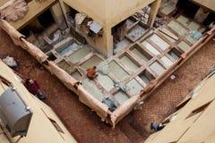 Chouara Tannery, Fes Medina, Morocco Stock Images