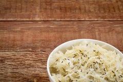 Choucroute avec des graines de cumin photos libres de droits