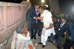 Chouhan, κύριος υπουργός Shivraj singh Madhya pradesh στοκ φωτογραφίες με δικαίωμα ελεύθερης χρήσης