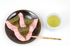 Choumeiji-sakuramochi Stock Image